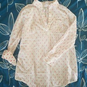 Maternity Collard shirt